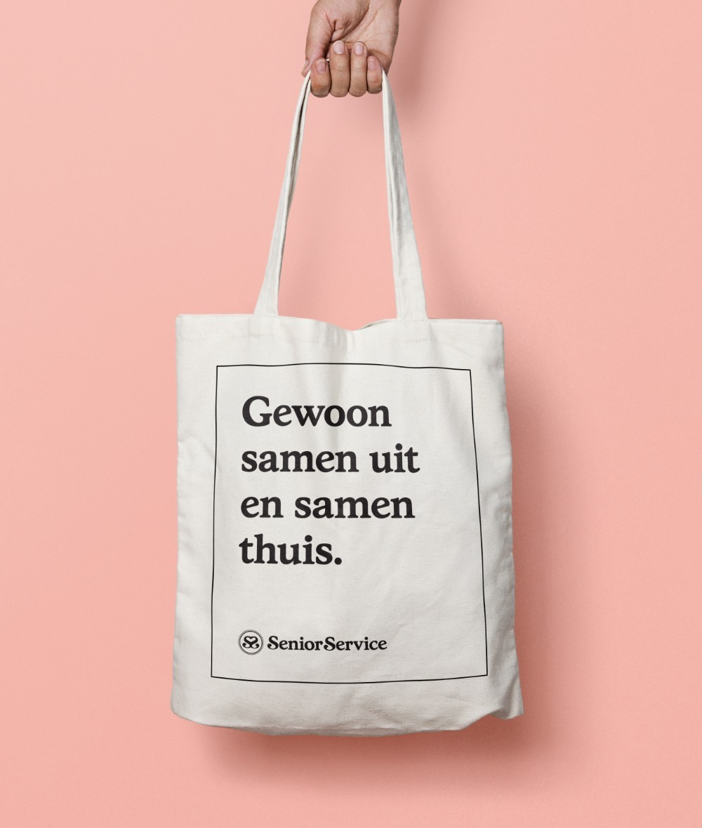 Senior Service Canvas Totebag