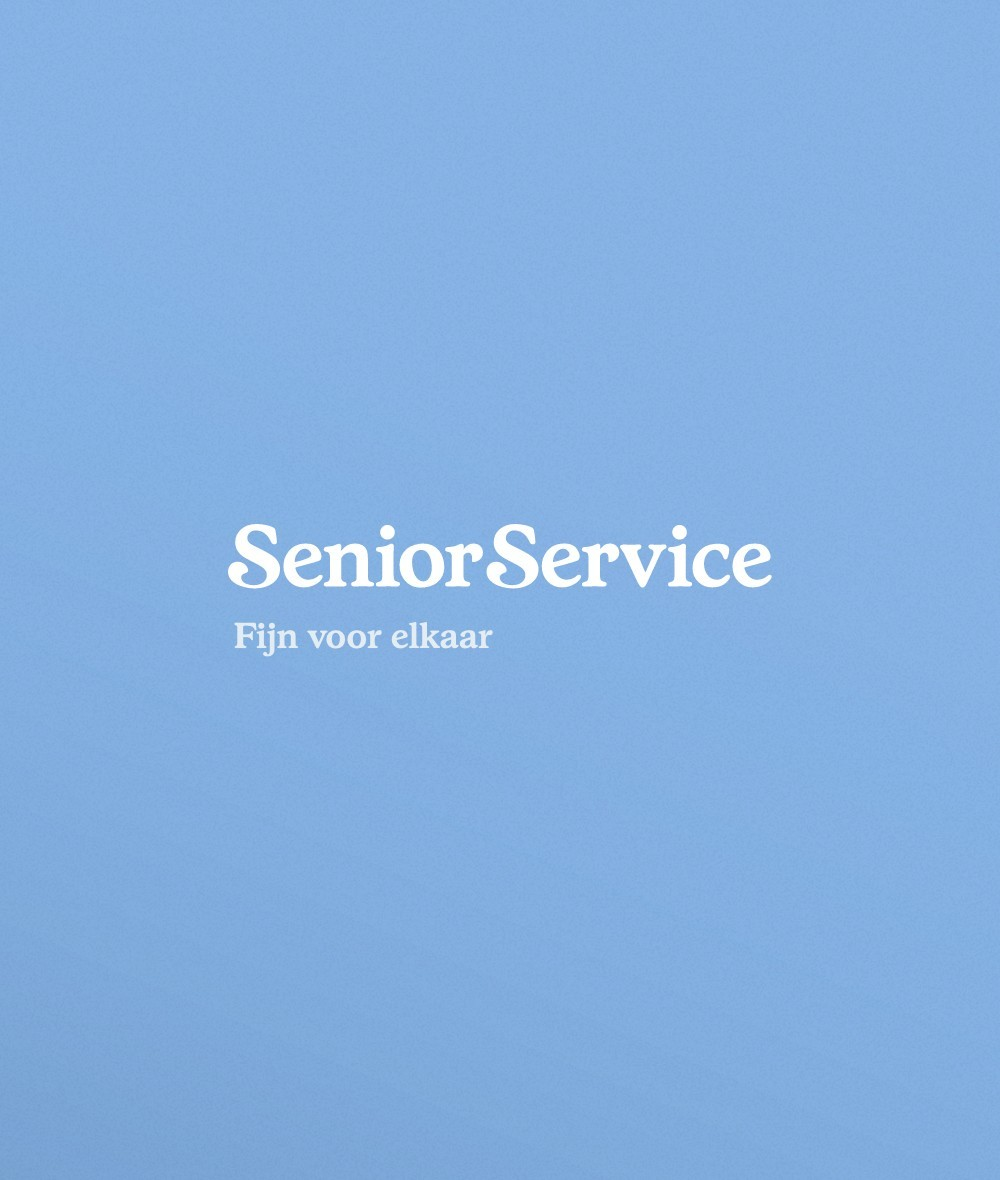 Senior Service Logo met Pay-off
