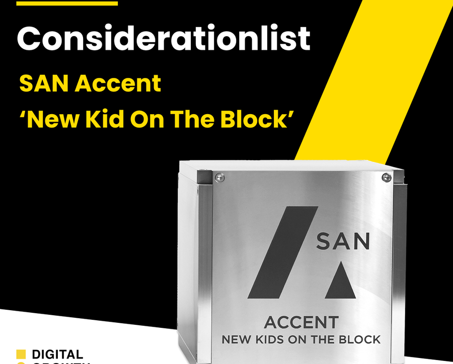 SAN Accent 'New Kid On The Block'